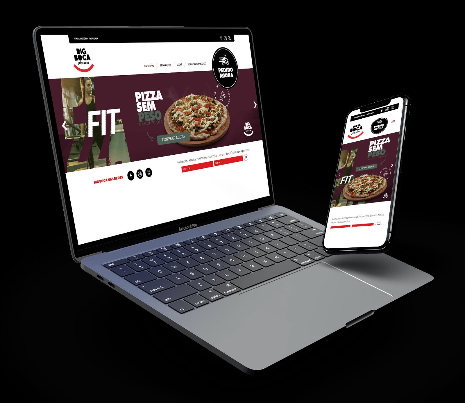Site WordPress para restaurantes