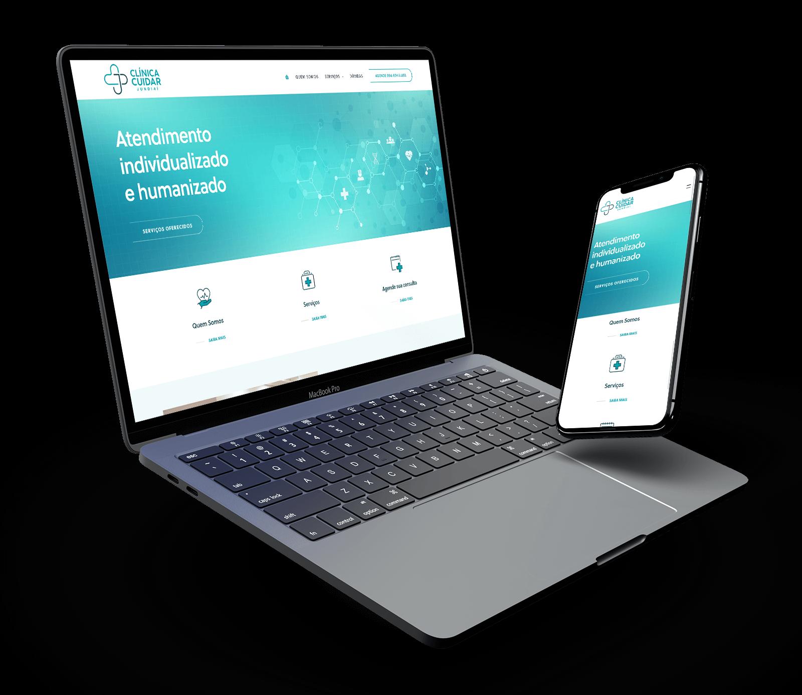 Site WordPress para clínicas médicas